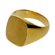 Signet ring 750/- yellow gold