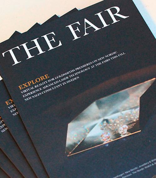 Læs magasinet The Fair, der er dedikeret til guldsmede, sølvsmede og urmagere. Skrevet og produceret af Aktiv Guld.