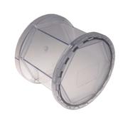 PVC-beholder til polertromle, 1 kg