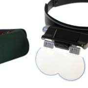 Megaview headband magnifier
