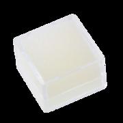 Display indsats, hvidt fyld, 2,5 x 2,5 cm