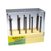 Bearing cutter set, Busch (11 pcs.)