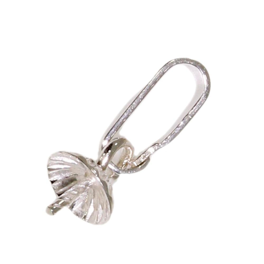 Spetsögla med pärlskål 925/-, 5 mm