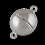 Blank magnet-kuglelås 925/-