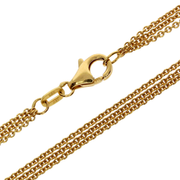 Necklace trace 585/- yellow gold