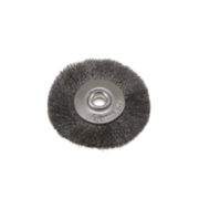 Steel wire lathe brush