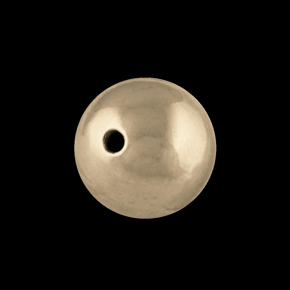 Gennemboret kugle 585/-